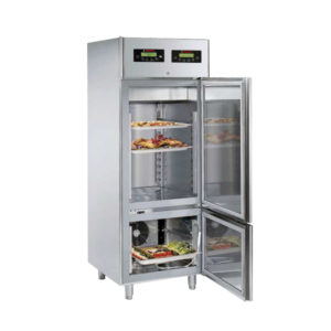 BLAST-CHILLER-CUM--SHOCK-FREEZER with holding unit